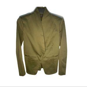 Brass Green Blazer Sz 0